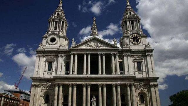 Sir Christopher Wren. St. Paul's Cathedral. London. 1675-1710
