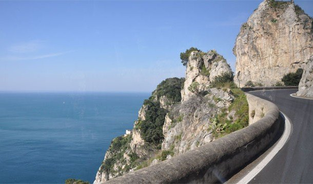The Amalfi Coast, Italy Best Roads In The World