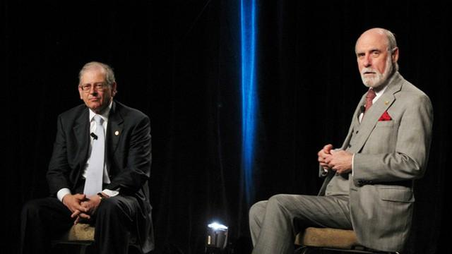 Vinton Cerf and Robert Kahn