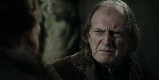 Walder Frey played the role of Argus Filch in the popular movie Harry Potter. game of thrones facts and theories