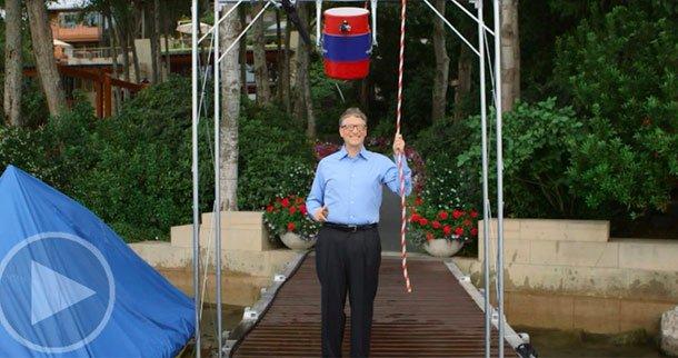 Bill Gates Accepts Mark Zuckerberg's ALS Ice Bucket Challenge