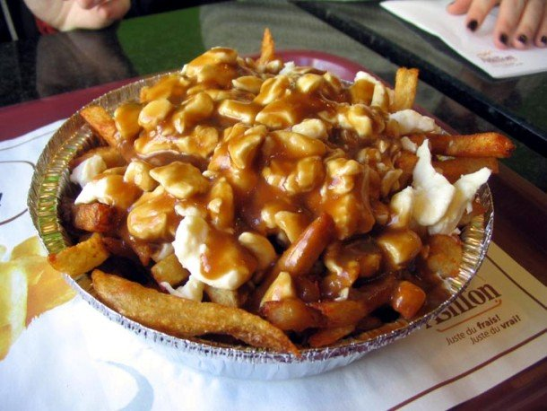 Canada Poutine famous food from countries