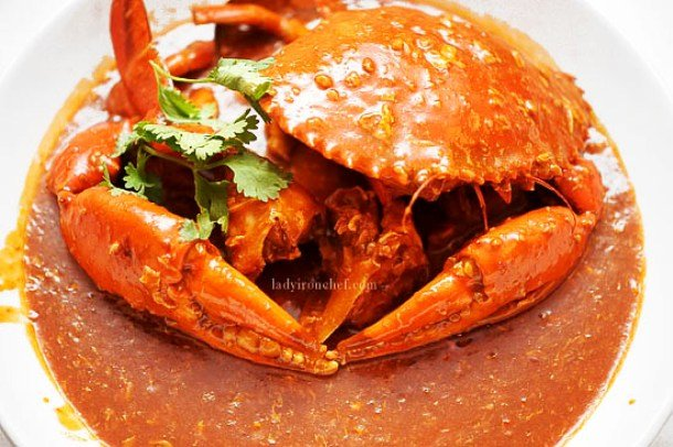 Singapore Chili Crab Famous Food Of Different Countries