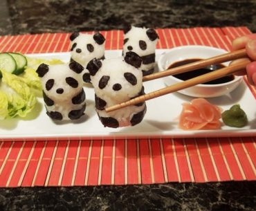 … and sushi pandas about to be eaten.