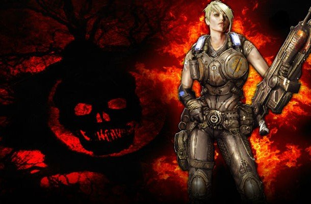 Anya Stroud, Gears of War 3 female game characters