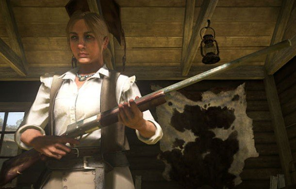 Bonnie MacFarlane, Red Dead Redemption female game characters
