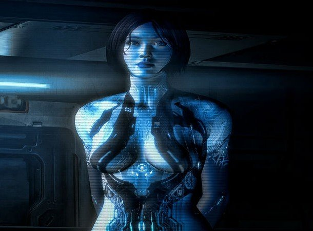 Cortana, Halo hottest female game characters