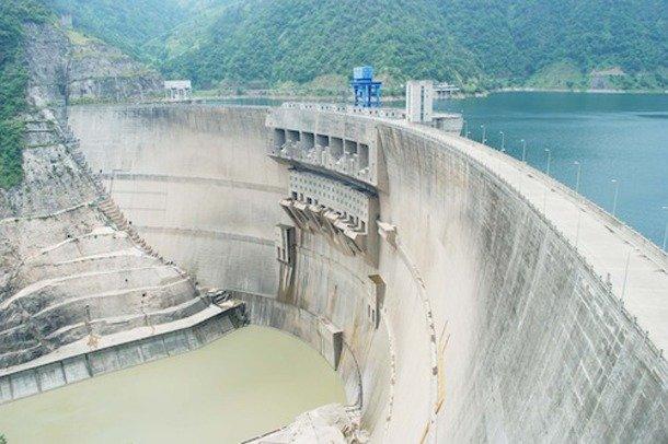Ertan Dam, China tallest dam in the world