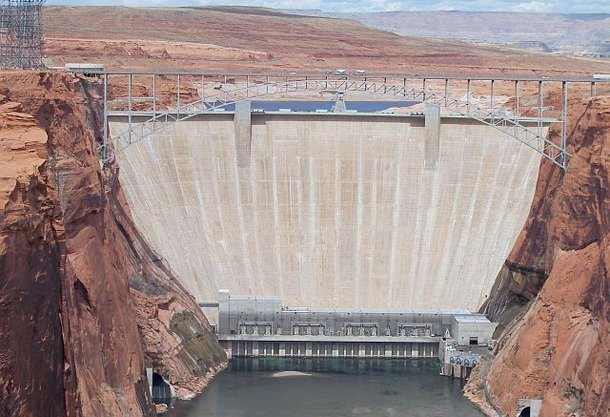 Glen Canyon Dam tallest dam in the world
