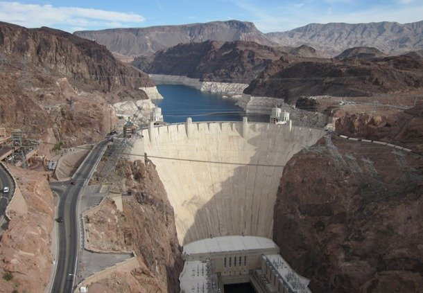 Hoover Dam, Arizona largest dam in the world 2019