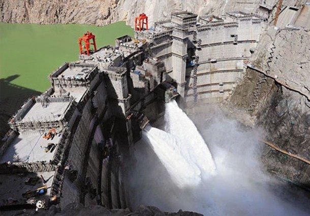 Laxiwa Dam, China largest dam in the world 2019