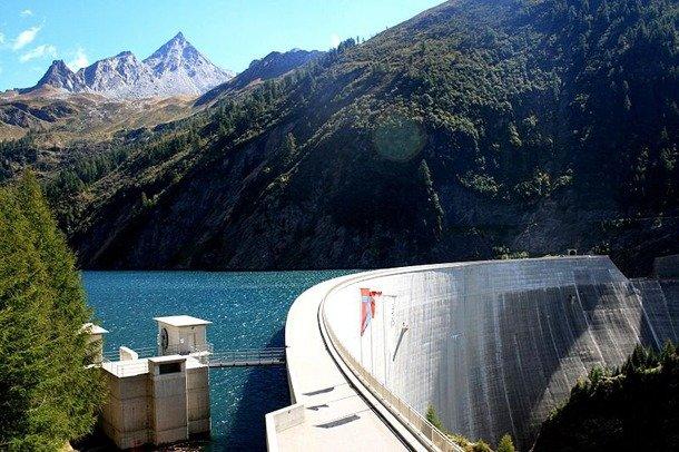 Luzzone Dam, Switzerland deepest dam in the world