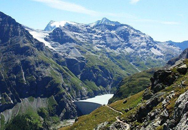 Mauvoisin Dam, Switzerland deepest dam in the world
