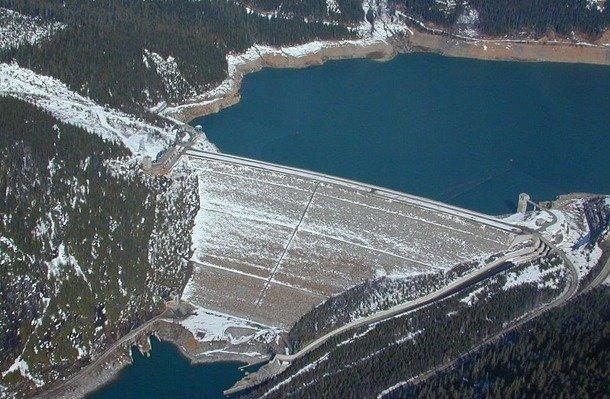 Mica Dam, Canada deepest dam in the world
