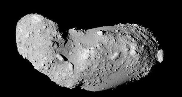 Peanut Asteroid Things Happening In Space