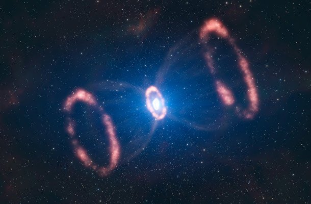 SN 1987A (AKA Hour Glass Supernova) Things Happening In Space