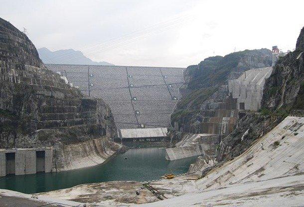 Shuibuya Dam, China largest dam in the world
