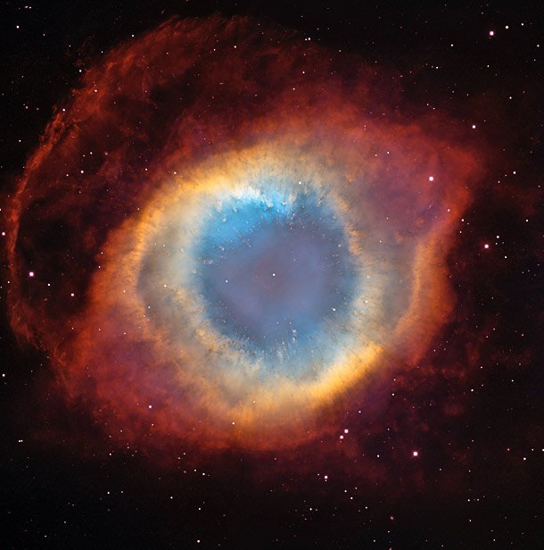 "The ""Eye Of God"" Nebula Weird Things Happening In Space"