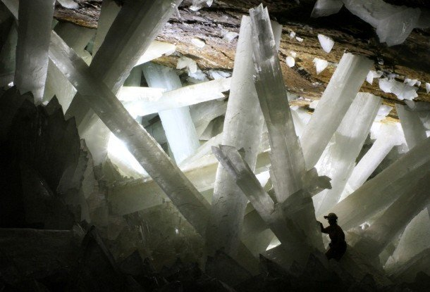 Cave of the Crystals, Mexico Hidden Tourist Attractions In The World