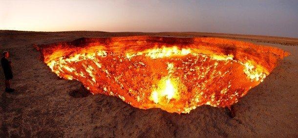 Derweze Crater, Turkmenistan Hidden Tourist Attractions In The World