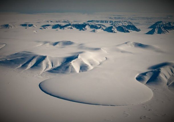 Elephant Food Glacier, Greenland Hidden Tourist Attractions In The World