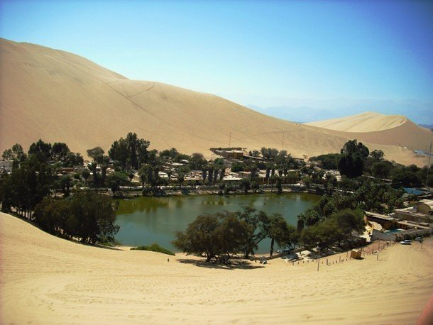 Huacachina, Peru secret places on earth impossible to visit