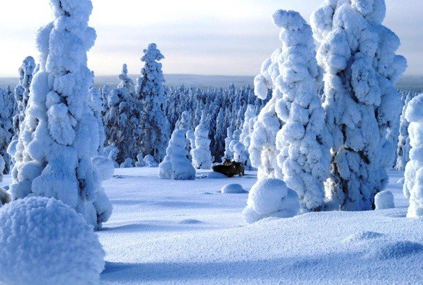 Lapland, Scandinavia secret places in the world to visit