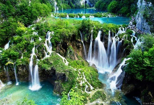 Plitvice Lakes National Park, Croatia best unknown places to visit in usa