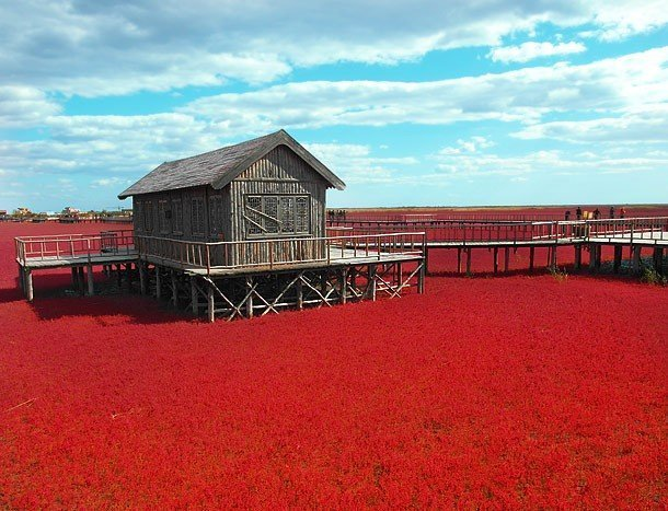 Red Seabeach, China best unknown places to visit in usa