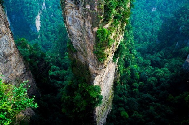 Zhangjiajie National Forest Park, China undiscovered beautiful places in the world