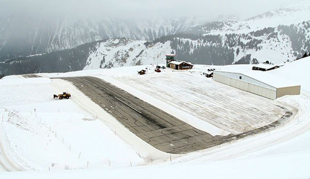 Courchevel Airport (France)