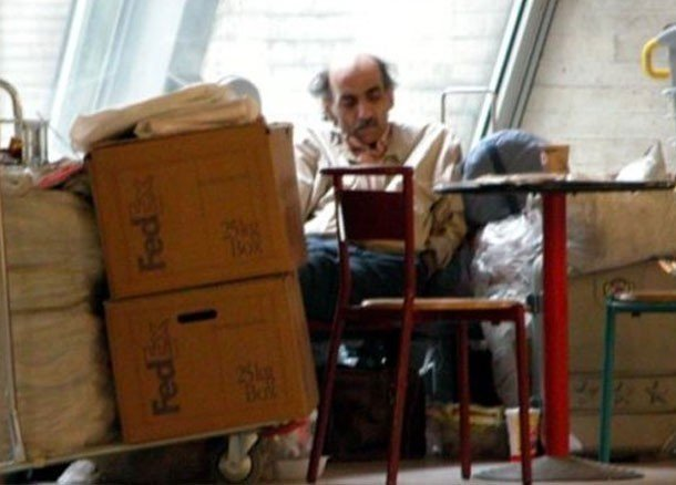 The Man Who Lived in an Airport for Nearly Two Decades