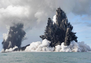 wrath of nature meaning Underwater Volcano – Tonga (2009)