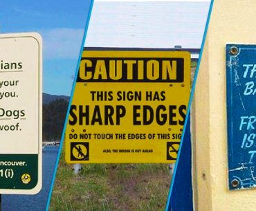 The Strange Funny Signs, You Have Ever Seen