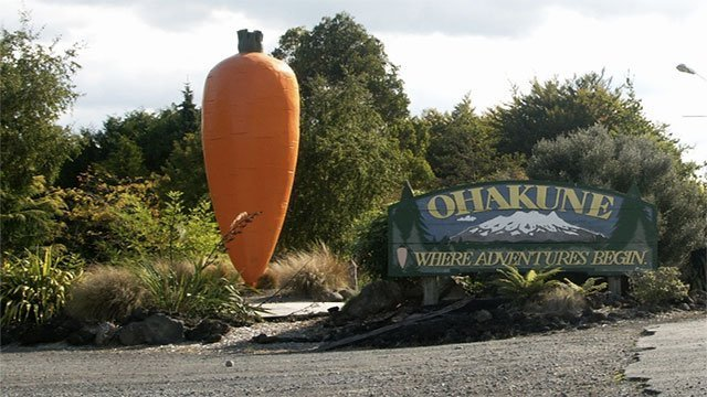 The World's Biggest Carrot (New Zealand)