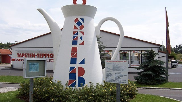 The World's Largest Coffee Pot (Germany)