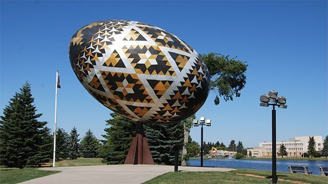 The World's Largest Egg (Canada)