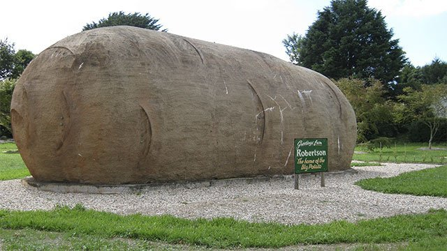 The World's Largest Potato (Australia)