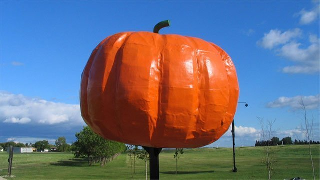The World's Largest Pumpkin (Canada)